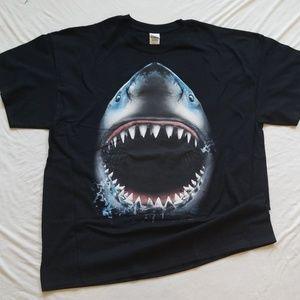 Shark Week Tshirt Shark Bite Jaws Men's Tee